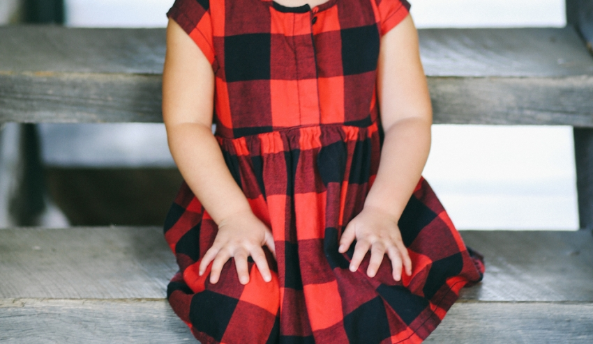 Little red plaid dress by Old Navy on Fashionable Hostess9