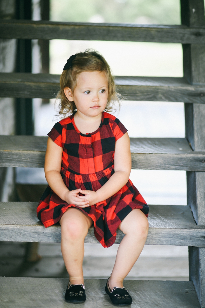 Little red plaid dress by Old Navy on Fashionable Hostess10