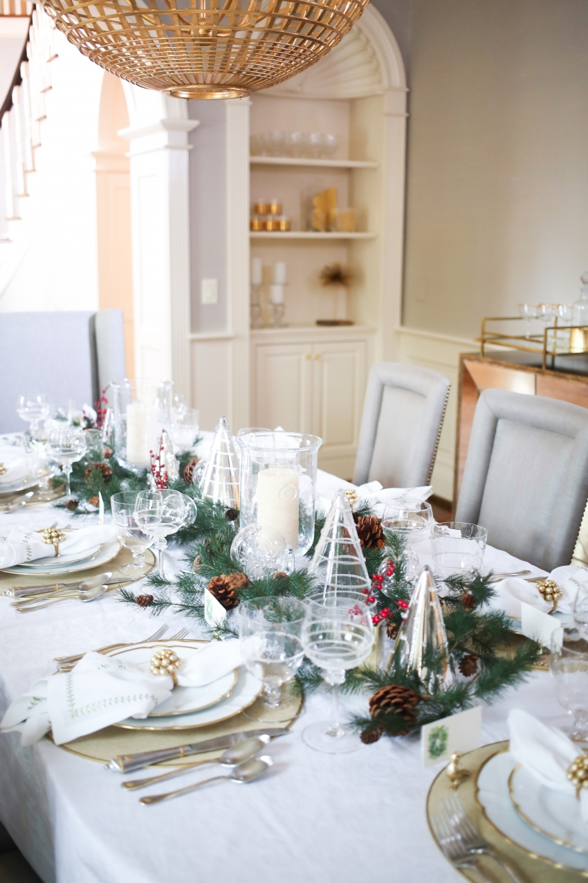 Style your Table for Christmas with Fashionable Hostess + StyleBluePrint Nashville 4