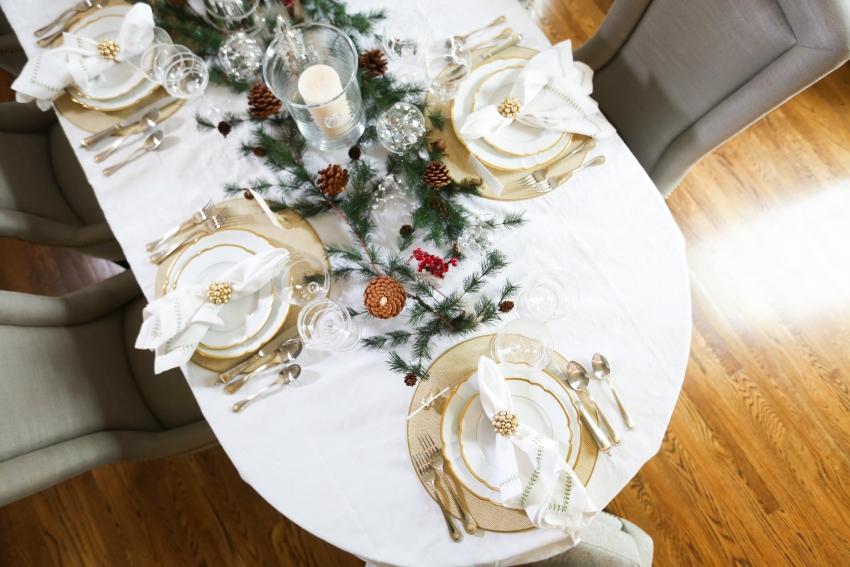 Style your Table for Christmas with Fashionable Hostess + StyleBluePrint Nashville 5