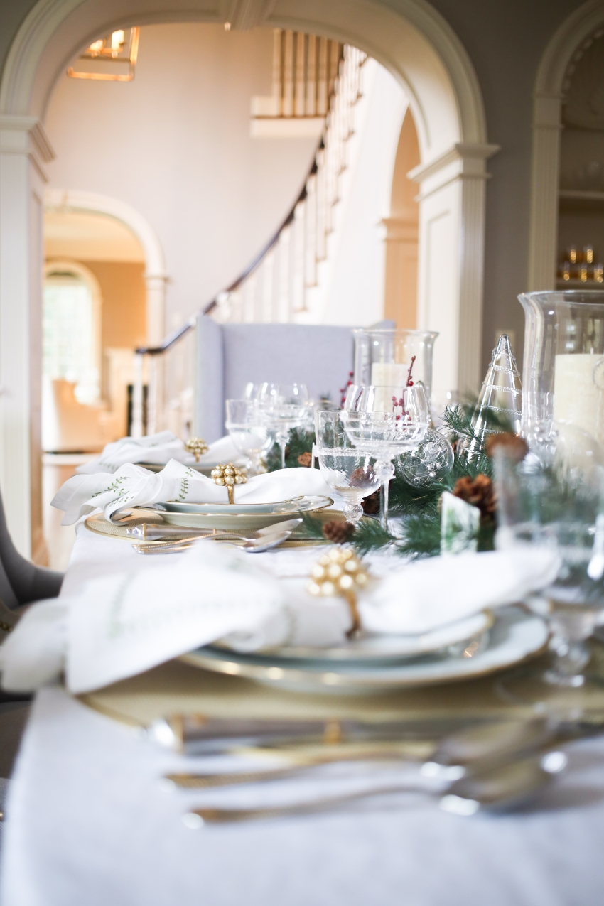 Style your Table for Christmas with Fashionable Hostess + StyleBluePrint Nashville 6
