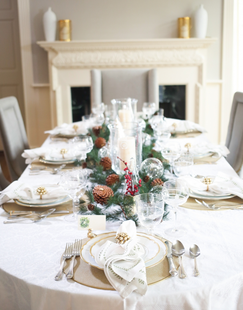 Style your Table for Christmas with Fashionable Hostess + StyleBluePrint Nashville 7