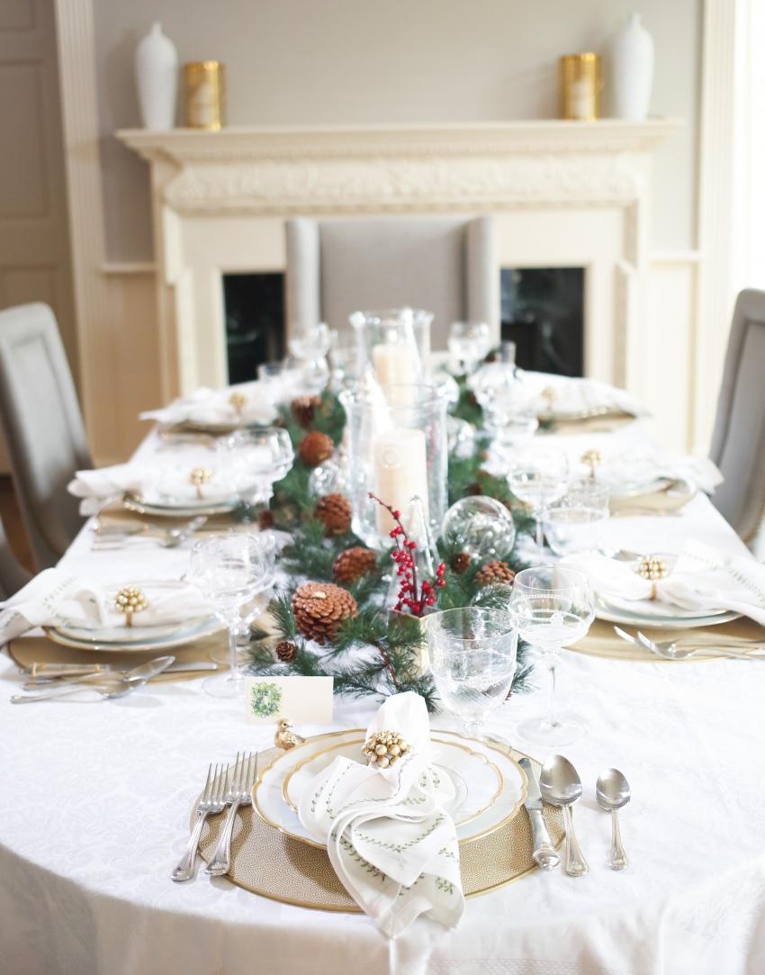Style your Table for Christmas with Fashionable Hostess + StyleBluePrint Nashville 7