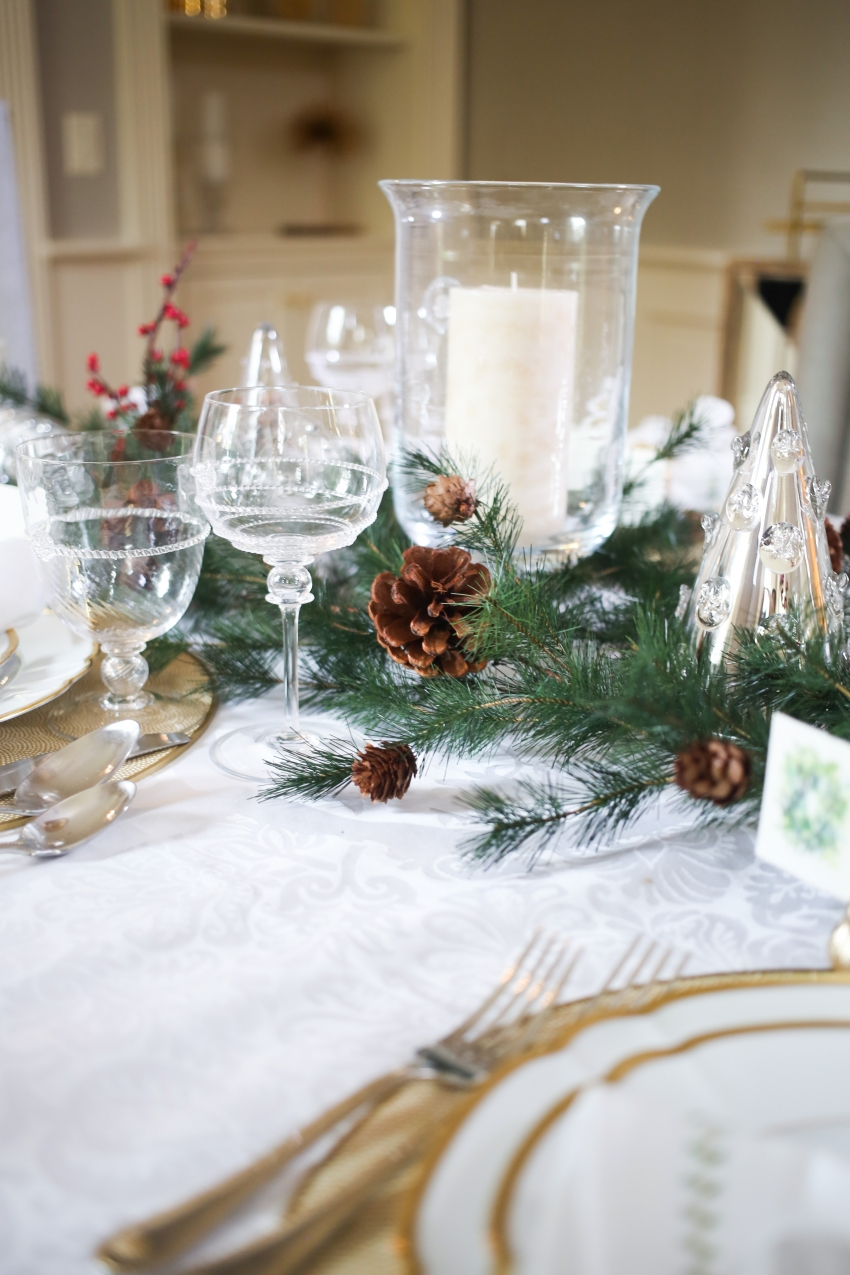 Style your Table for Christmas with Fashionable Hostess + StyleBluePrint Nashville 8
