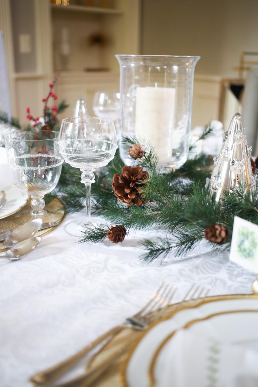 Style your Table for Christmas with Fashionable Hostess + StyleBluePrint Nashville 8