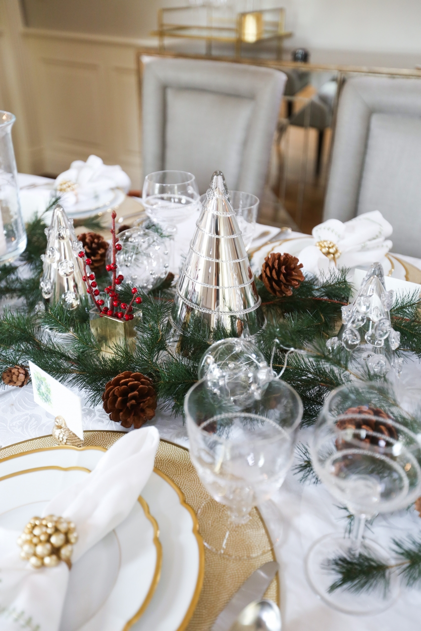 Style your Table for Christmas with Fashionable Hostess + StyleBluePrint Nashville 9