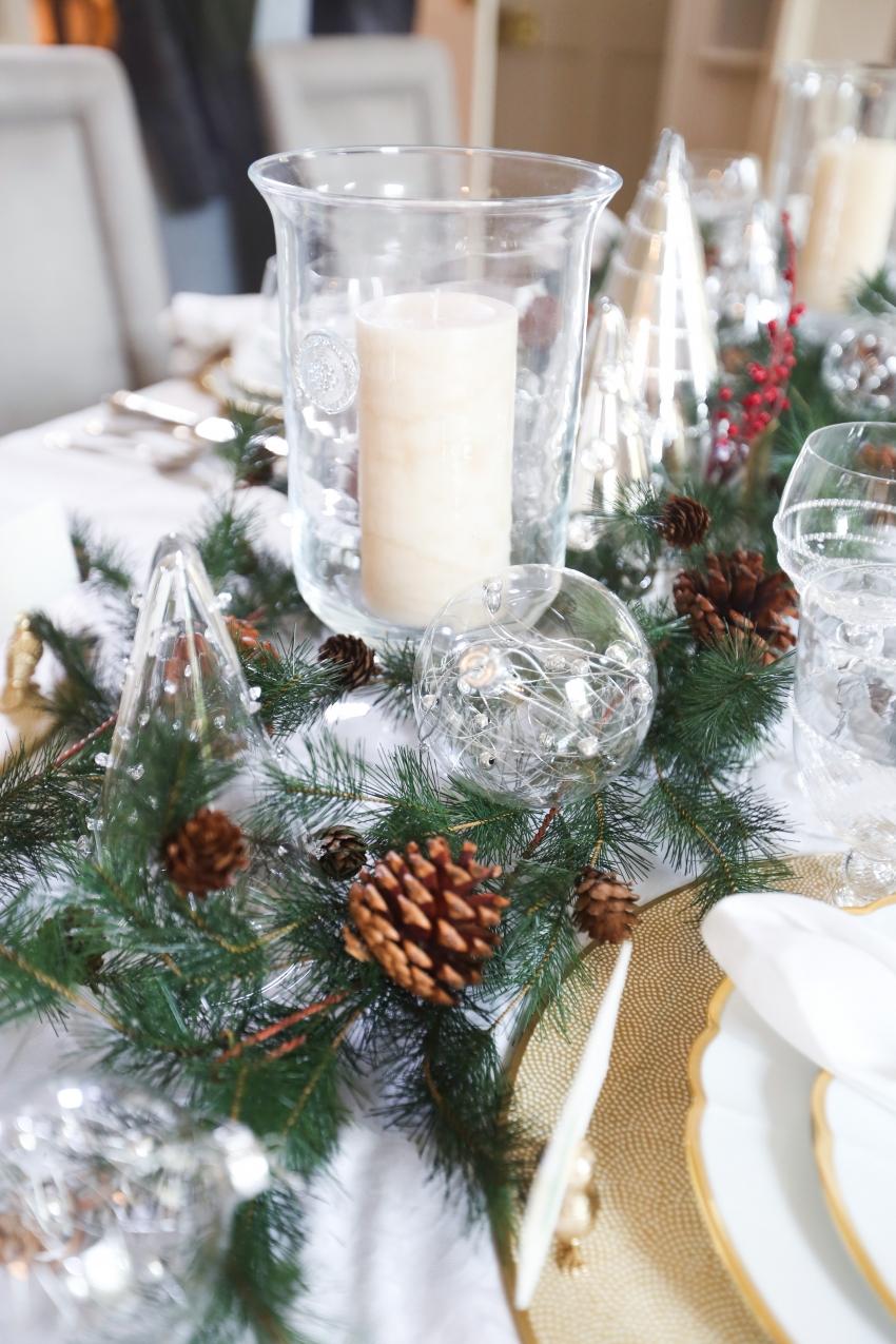 Style your Table for Christmas with Fashionable Hostess + StyleBluePrint Nashville 10