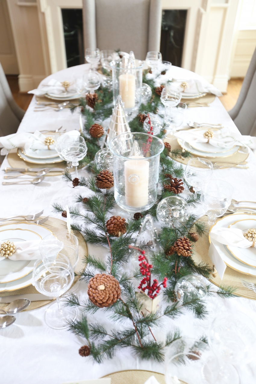 Style your Table for Christmas with Fashionable Hostess + StyleBluePrint Nashville 11