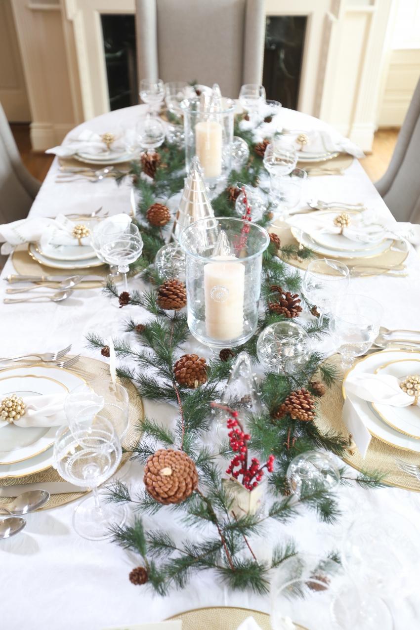 Style your Table for Christmas with Fashionable Hostess + StyleBluePrint Nashville 11
