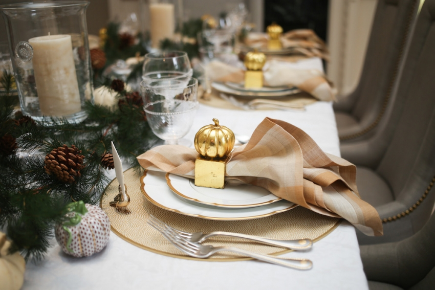 Style your Table for Thanksgiving with Fashionable Hostess + StyleBluePrint Nashville 1