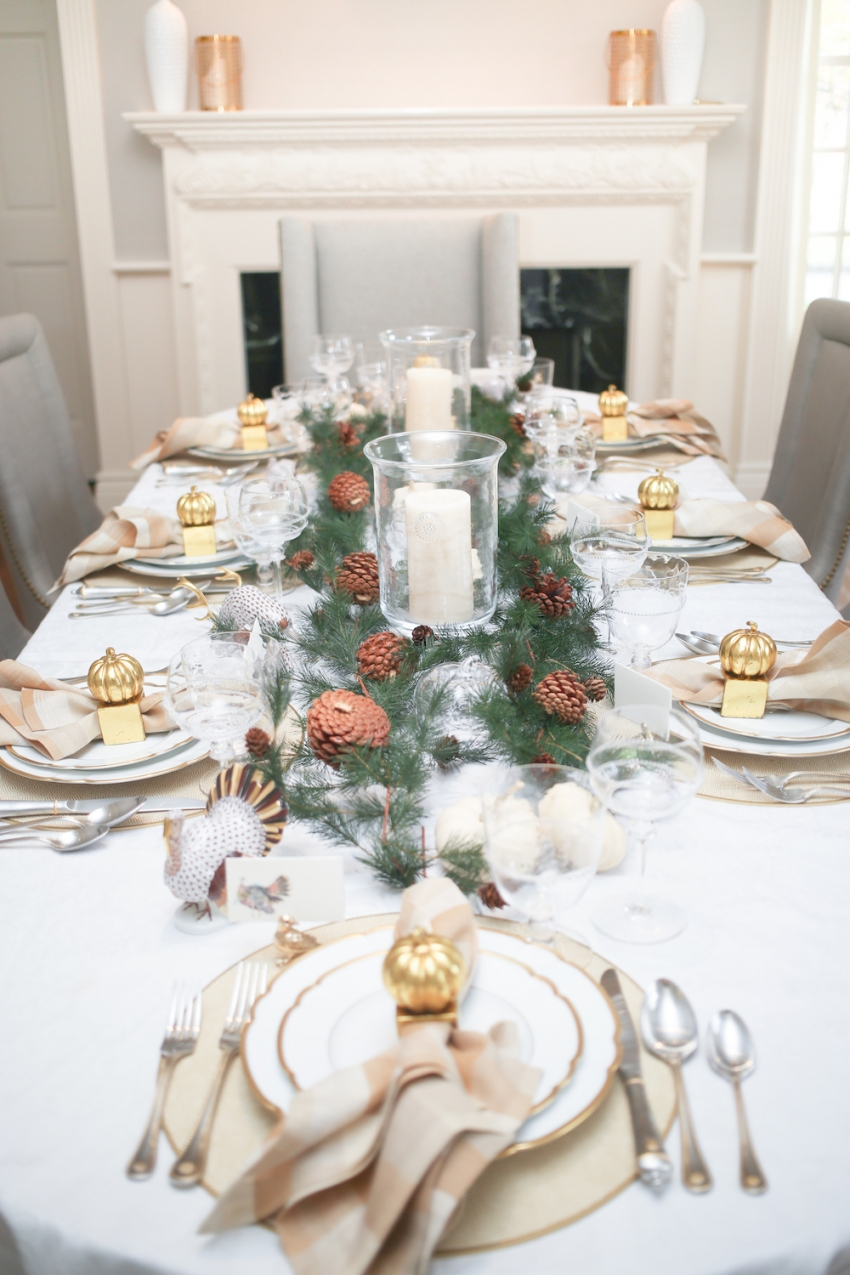 Style your Table for Thanksgiving with Fashionable Hostess + StyleBluePrint Nashville 2