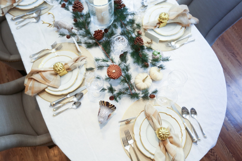 Style your Table for Thanksgiving with Fashionable Hostess + StyleBluePrint Nashville 6