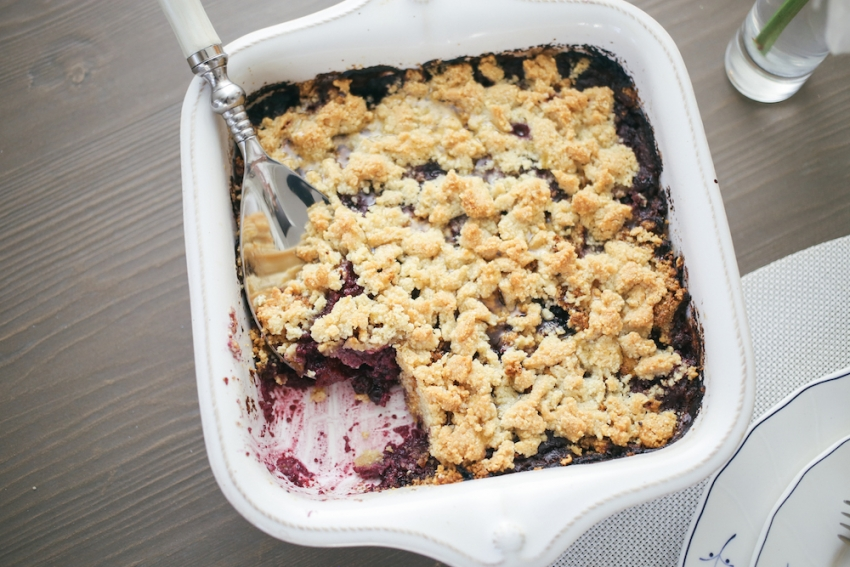 Berry Crumble Recipe
