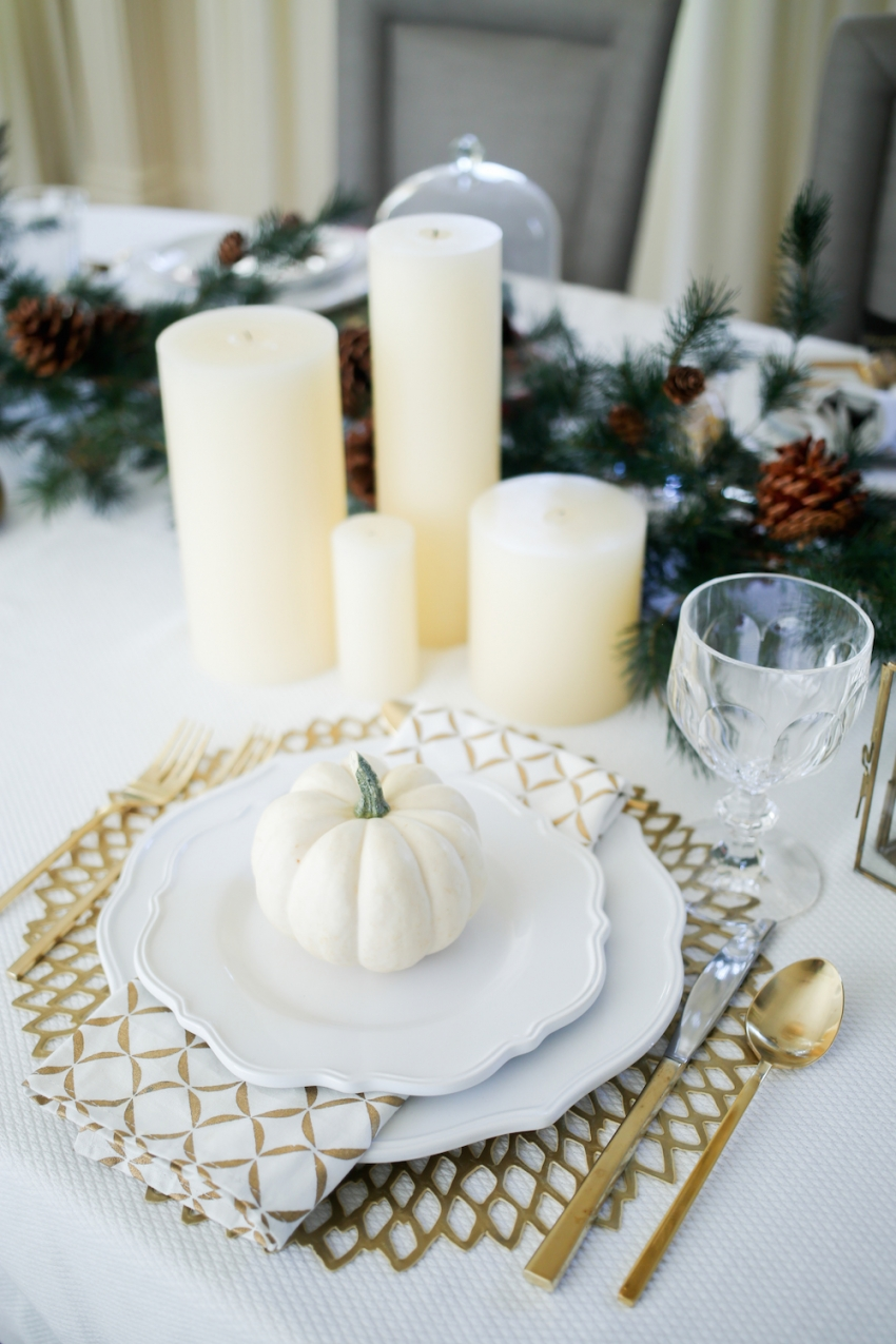 Thanksgiving TableSetting inspiration from Fashionable Hostess8