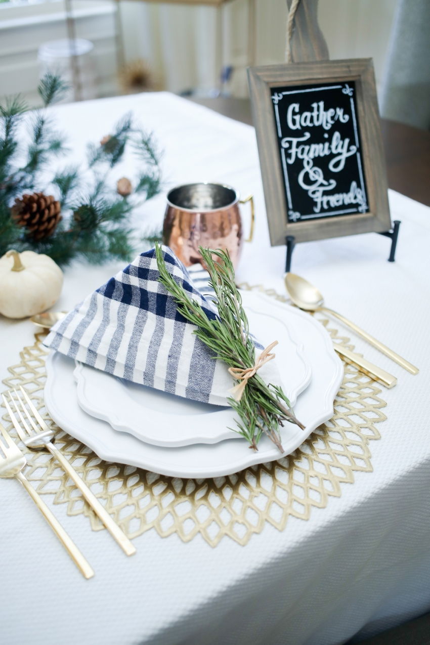 Thanksgiving TableSetting inspiration from Fashionable Hostess12
