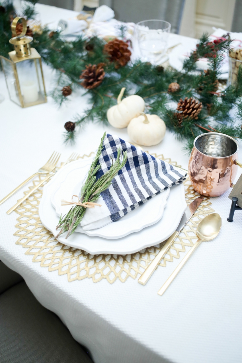 Thanksgiving TableSetting inspiration from Fashionable Hostess15