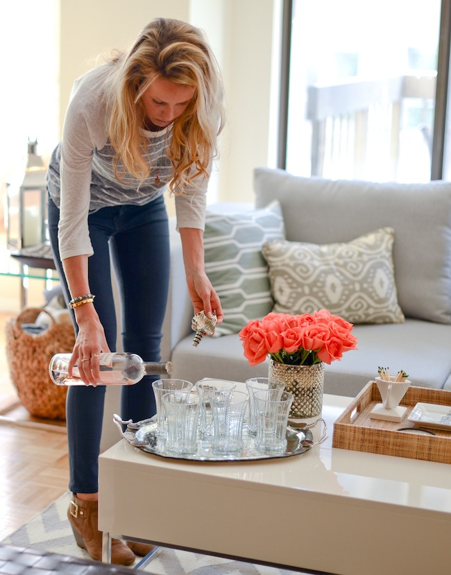 Host Happy Hour At Home Fashionable Hostess
