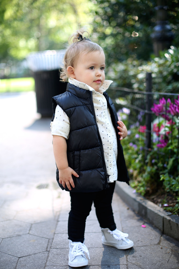 19 Month Toddler Baby Puffer Vest Fashionable Hostess