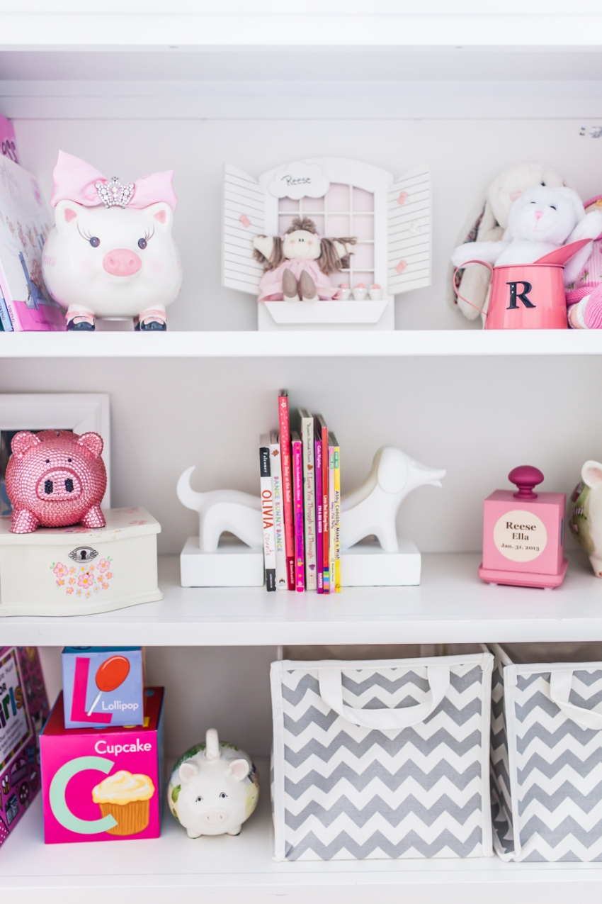 Curtains For Baby Girl Nursery: Merchandising Your Baby Girl's Nursery Shelves