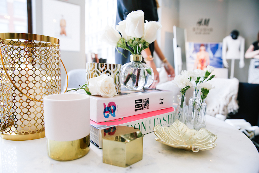 H M Home Styling Project Fashionable Hostess