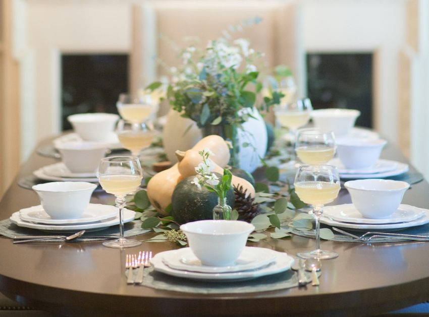 Host A Fall Dinner Party Fall Vegetable Centerpieces