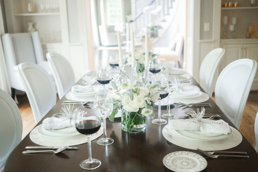 Host A Winter White Dinner Party Fashionable Hostess