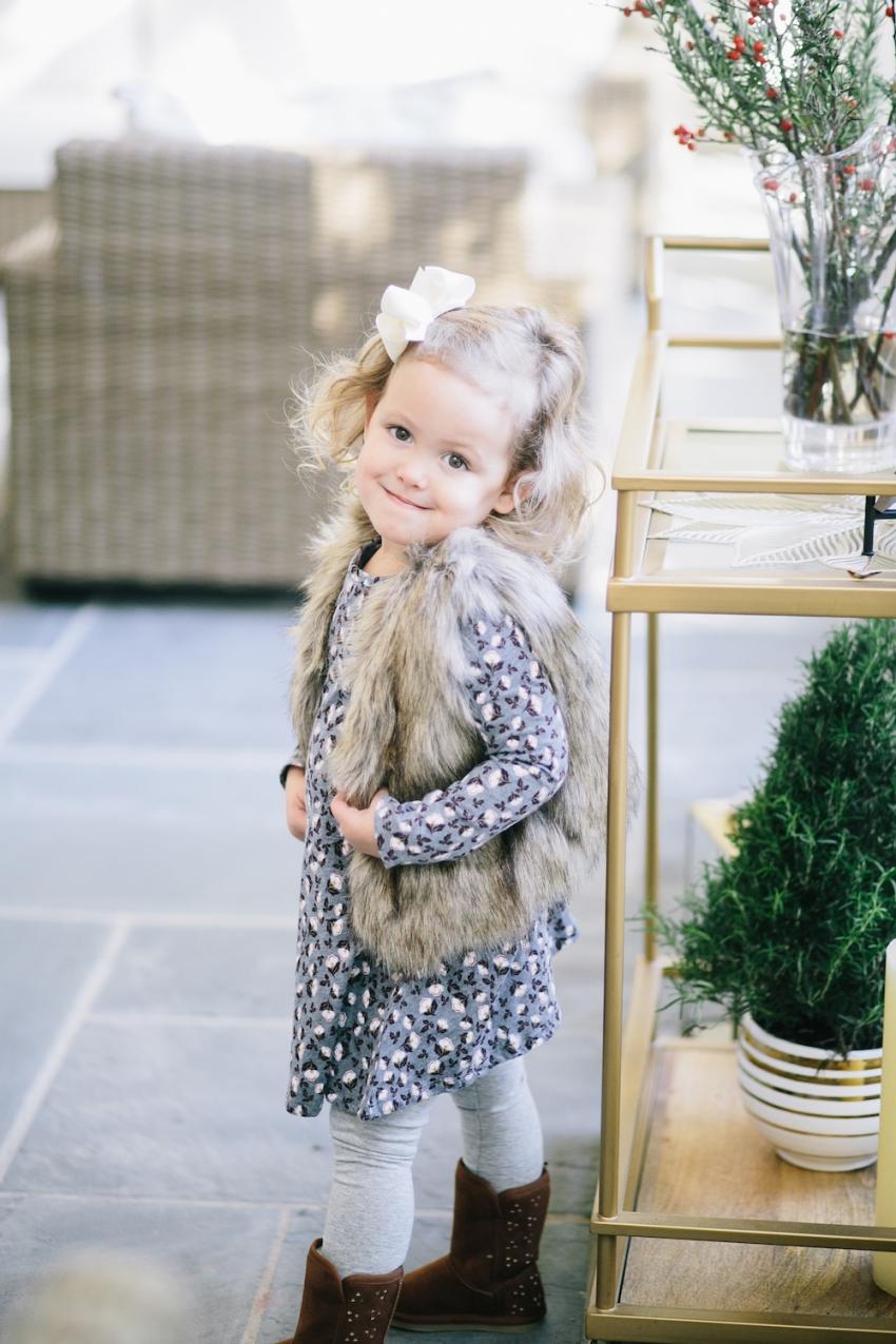 Faux Fur Vest Fashionable Hostess